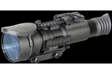 Armasight Nemesis 4X Ghost Night Vision Rifle Scope Gen 3 Ghost White Phosphor, Black NRWNEMESI4GGDA1