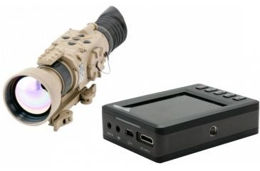 1-Armasight Zeus 336 5-20x75 Thermal Imaging Weapon Sight, FLIR Tau 2 336x256 17 um Core, 75mm Lens