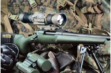 5-Armasight OPMOD Zeus 7 Thermal Imaging 7-14x75 Weapon Sight, FLIR Tau 2 Core, Tan