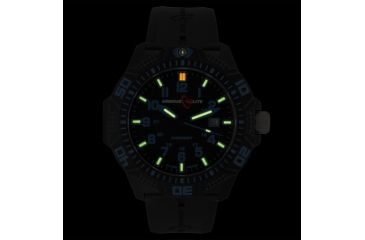 Armourlite Caliber Series Blue Watch With Rubber Band, Black/Blue, Small AL612