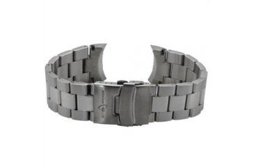 Armourlite Captain Field Watch Band - Stainless Steel Bracelet, Silver, Small AL300BSS
