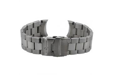 Armourlite ColorBurst Watch Band - Stainless Steel Bracelet, Silver, Small AL200SS