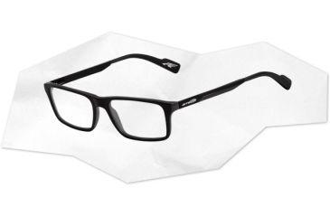 Arnette Arnette Auxilliary Eyeglasses, Matte Black AN7051-0451BI