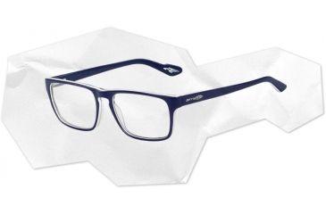 Arnette Arnette Holly Eyeglasses, Top Blue On White/Blue AN7050-0252BI