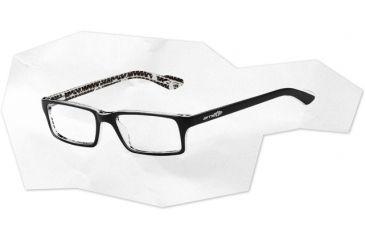 Arnette Arnette Roadie Eyeglasses, Top Black On White AN7035-0350