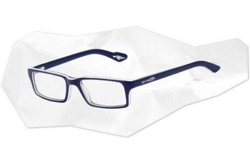 Arnette Arnette Roadie Eyeglasses, Top Blue/White/Blue Transparent AN7035-0550