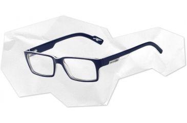 Arnette Arnette Sync Eyeglasses, Top Blue/White/Blue Trasparent AN7039-0149