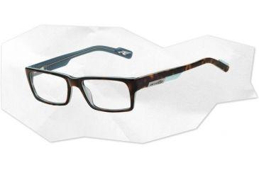 Arnette Arnette Sync Eyeglasses, Top Havana On Azure AN7039-0549