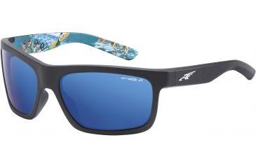 Arnette Arnette Easy Money Sunglasses, Fuzzy Black-Alh AN4190-04BI