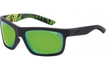 Arnette Arnette Easy Money Sunglasses, Fuzzy Black-Blbk AN4190-05BI