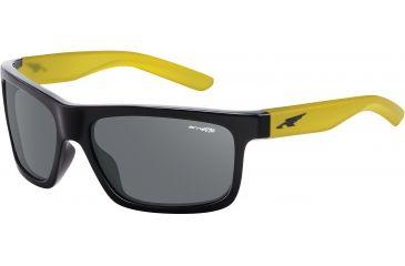 Arnette Arnette Easy Money Sunglasses, Gloss Black-Gm Yel AN4190-06BI