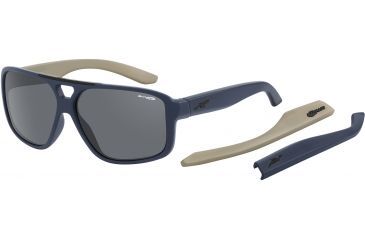 Arnette Fat City Sunglasses, Fuzzy Navy AN4189-06