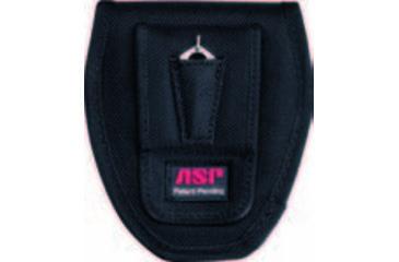 ASP Double Black Handcuff Case Back View
