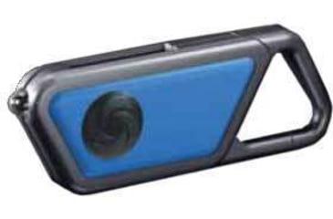 ASP Elite Wearable Blue Crystal LED Clip-On Light