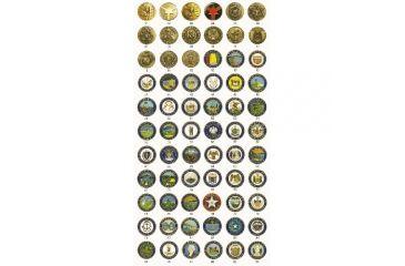 ASP Logo Leverage Cap, Breakaway & G1 Key, Brass - New York 75872