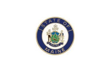 Asp State Seal Logo Cap Breakaway G1 Key Brass Maine 73459