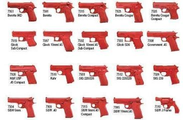 ASP Red Training Instruction Replica Gun / Firearms