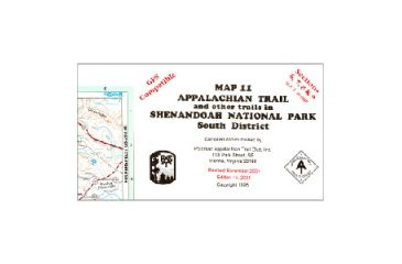 At Map Shenandoah South, A.t.c., Publisher - Ap Trail Conservancy