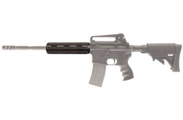 AR-15 Carbine Forend (Free Float) mounted on rifle
