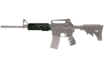 AR-15 Carbine Two Piece Forend mounted to rifle