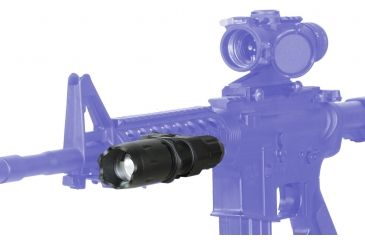 ATN J125W Flashlight on Gun