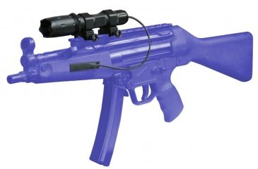 ATN J169W Flashlight with Controller on Gun