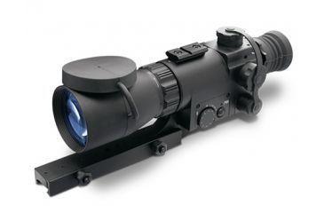 ATN MK 350 Guardian Night Vision Riflescope, Black w/ Red on Green Reticle, Factory DEMO - NVWSM35010-DEMO