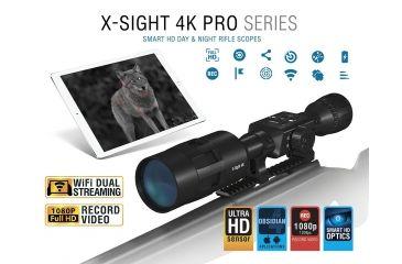 ATN X-Sight 4K Pro Edition 3-14x Smart HD Day/Night ...
