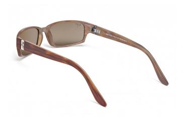 Maui Jim Atoll Sunglasses w/ Tortoise Frame and HCL Bronze Lenses - H220-10, Back View
