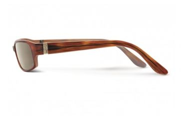 Maui Jim Atoll Sunglasses w/ Tortoise Frame and HCL Bronze Lenses - H220-10, Side View