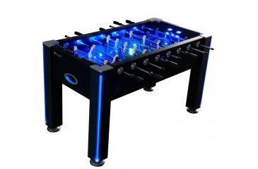 Attrayant Atomic Azure LED Light Up Foosball Table G01344W
