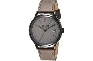 Axcent Episode Watch, Gray Strap, Gray Face, Black Hands X11023-030