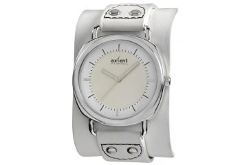 Axcent Wake Watch, White Strap, White Face, Luminous Hands X11601-131