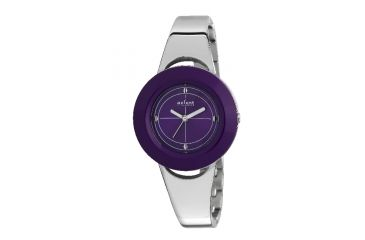 Axcent Select Watch, Silver Bracelet, Purple Face, Silver Hands X18124-032
