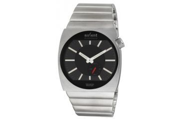 Axcent Rebel Watch, Silver Bracelet, Black Face, Silver Hands X20443-232