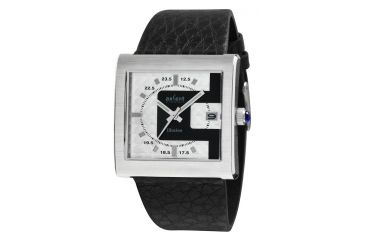 Axcent Illusion Watch, Black Strap, White Face, Silver Hands X32141-237