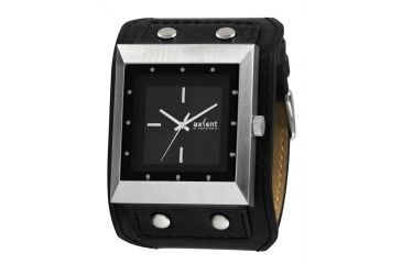 Axcent Explore Watch, Black Strap, Black Face, Silver Hands X53403-237