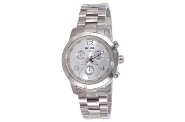 Axcent District Watch, Silver Bracelet, Silver Face, Silver Hands X91453-632