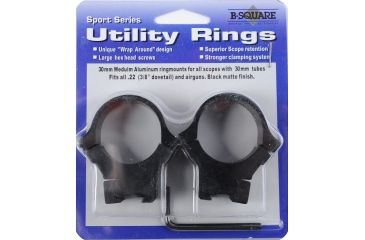 B-Square Sport Utility Rings, Blued 27064