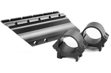 B-Square Sporting Hunting Rifle Mount 1in rings Blued 14600