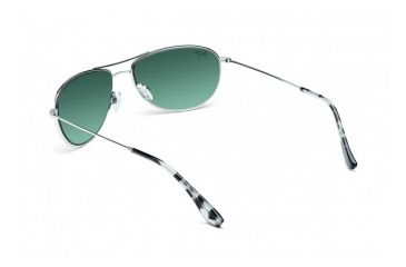 Maui Jim Baby Beach Sunglasses w/ Silver Frame and Neutral Grey Lenses - GS245-17, Back View