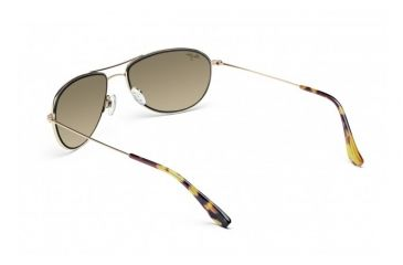 Maui Jim Baby Beach Sunglasses w/ Gold Frame and HCL Bronze Lenses - HS245-16, Back View
