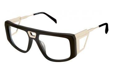 aed1d7a783ab Balmain 1103 Single Vision Prescription Eyeglasses - Frame Black Gold