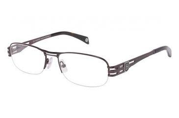 795e5f6e7a Balmain 3010 Single Vision Prescription Eyeglasses - Frame BROWN