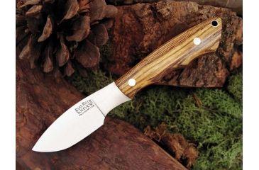 Bark River Mini Canadian Fixed Blade Knife,2.75in,A-2 Tool Steel Blade,Bocote Wood Handle BA133WB
