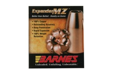 Barnes Expander MZ Muzzleloader Bullet .45 Caliber .400 Diameter 195 Grain 40016