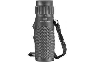 Barska 10x25 WP Blackhawk Monocular, BK7, Green Lens, Black AA12130