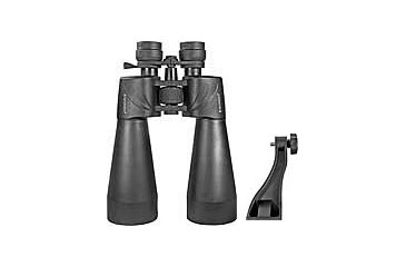 Barska 12-60x70 Escape Zoom Binoculars - Porro, Multi-Coated, Green Lens, w/ Tripod Adaptor AB11052