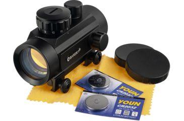 5-Barska 1x30 Red Dot Scopes AC10328 - 30mm Red Dot Sights w/ 5 MOA Reticle