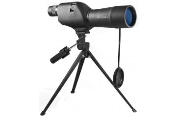 Barska Colorado 20-60x60 Waterproof Straight Spotting Scope, Black, w/ Tripod & Case CO11502